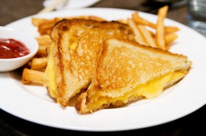 Grilled Cheese With the Guilty