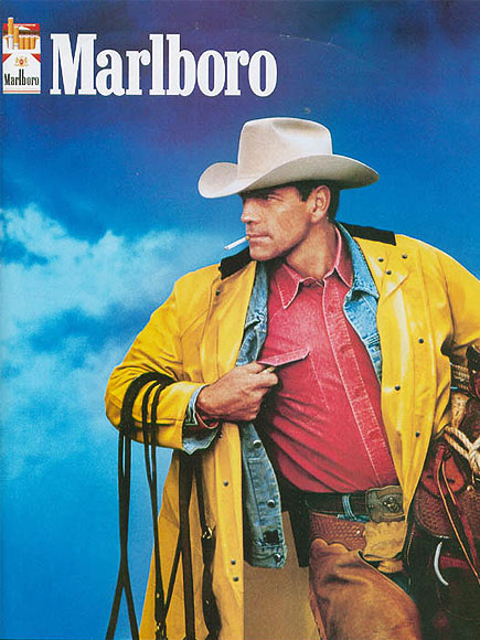 an analysis of the marlboro ad a western landscape